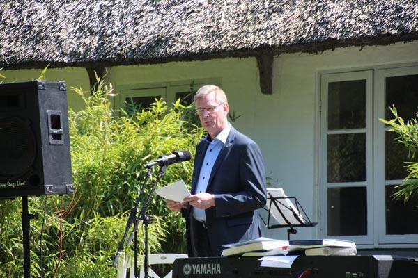 Peter Gæmelke holdt årets Grundlovstale.